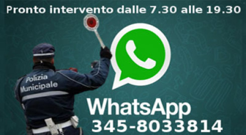 Pronto intervento WhatsApp
